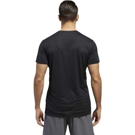 Мъжка тениска - adidas RUN 3STRIPES TEE MEN - 7