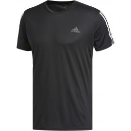 adidas RUN 3STRIPES TEE MEN - Men's T-Shirt