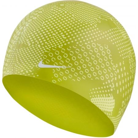Nike OPTIC CAMO SILICONE CAP - Плувна шапка