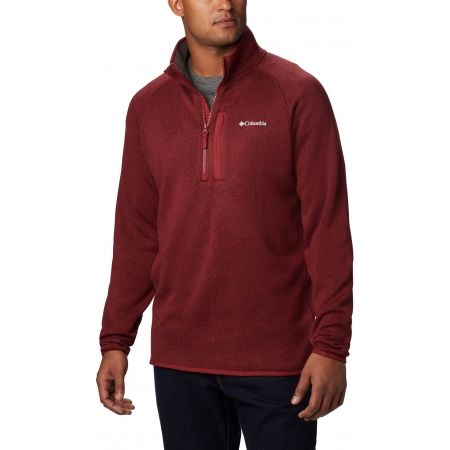 Columbia CAYON POINT SWEATER FLEEC 1/2 ZIP - Pánsky flísový sveter