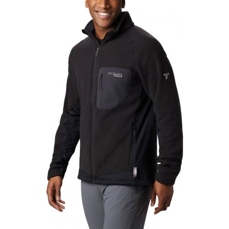 Men's fleece sweatshirt - Columbia TITAN PASS 2.0 II FLEECE - 1