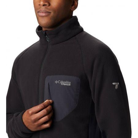 Men's fleece sweatshirt - Columbia TITAN PASS 2.0 II FLEECE - 3