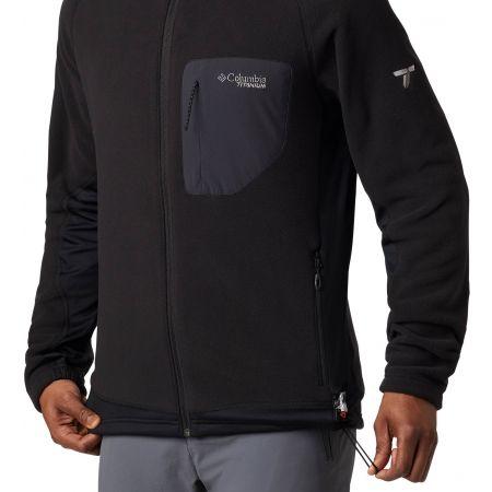 Men's fleece sweatshirt - Columbia TITAN PASS 2.0 II FLEECE - 4