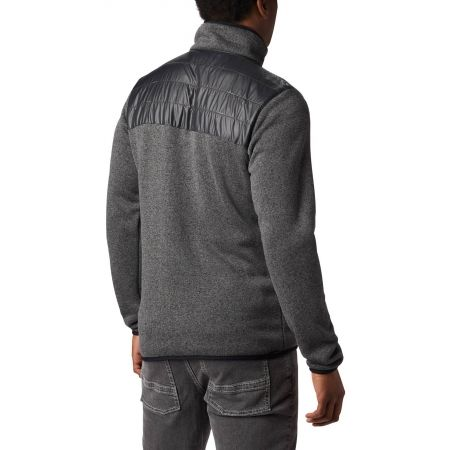 Мъжки поларен суитшърт - Columbia CANYON POINT™ SWEATER - 3