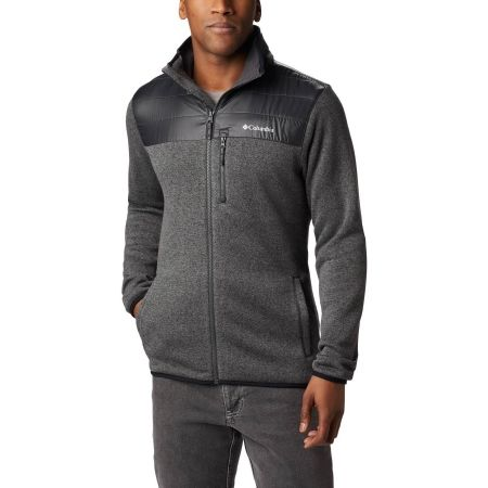 Columbia CANYON POINT™ SWEATER - Pulover fleece de bărbați