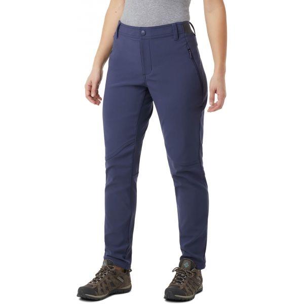 Columbia WINDGATES FALL PANT modrá L - Dámské outdoorové kalhoty