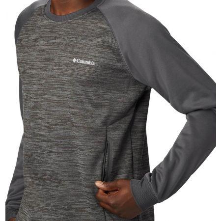 Men's outdoor sweater - Columbia TECH TRAIL MIDLAYER CREW - 3