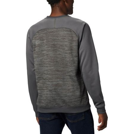 Men's outdoor sweater - Columbia TECH TRAIL MIDLAYER CREW - 2