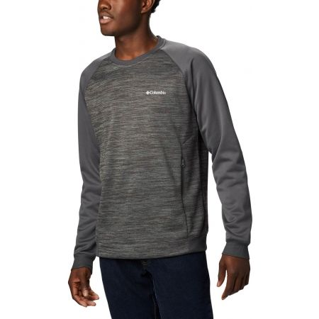Columbia TECH TRAIL MIDLAYER CREW - Férfi outdoor pulóver