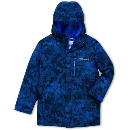 Boys' winter jacket - Columbia ALPINE FREE FALL II JACKET - 1