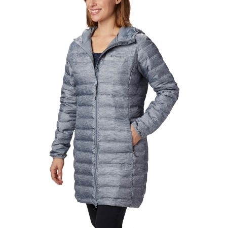 Дамско пухено яке - Columbia LAKE 22 DOWN LONG HOODED JACKET - 1