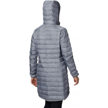 Дамско пухено яке - Columbia LAKE 22 DOWN LONG HOODED JACKET - 2