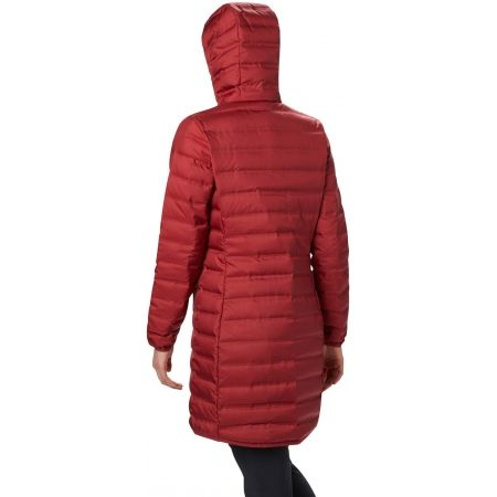 Dámská péřová bunda - Columbia LAKE 22 DOWN LONG HOODED JACKET - 2