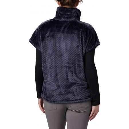 Women's fleece vest - Columbia FIRE SIDE III SHERPA SHRUG - 2