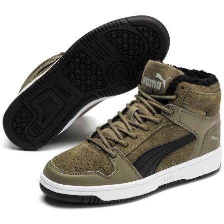 Puma REBOUND LAYUP FUR SD JR - Kids' leisure shoes