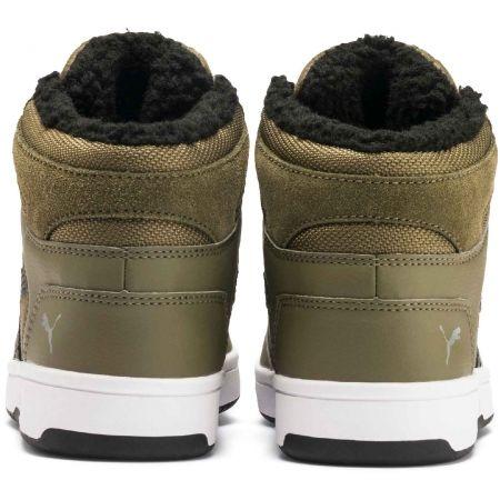 Dětská volnočasová obuv - Puma REBOUND LAYUP FUR SD JR - 6