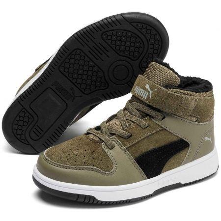 Puma REBOUND LAYUP FUR SD V PS - Kids' leisure shoes