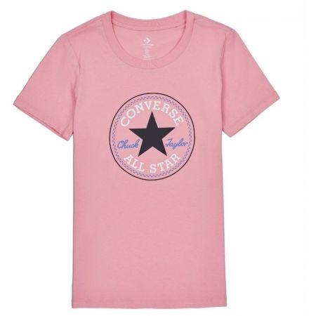 Дамска тениска - Converse CHUCK PATCH NOVA TEE