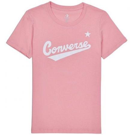 Converse WOMENS NOVA CENTER FRONT LOGO TEE - Dámské tričko