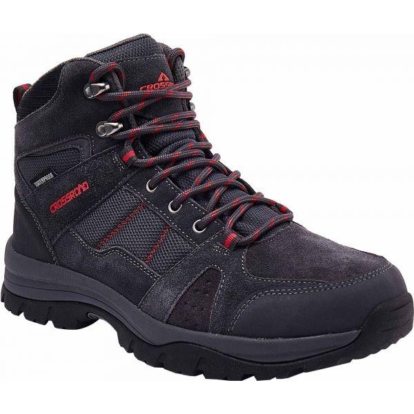Crossroad HICAR čierna 43 - Pánska treková obuv