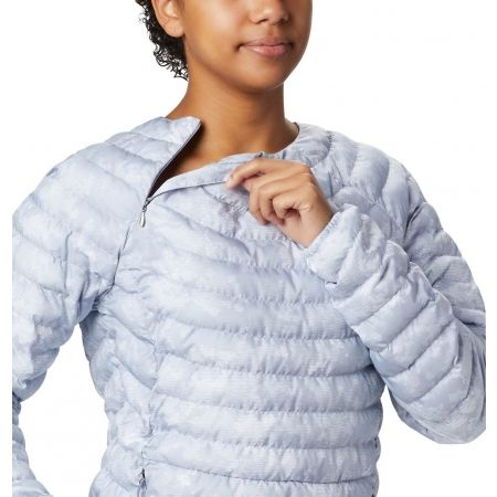 Women's outdoor jacket - Columbia POWDER PASS PULLOVER - 4