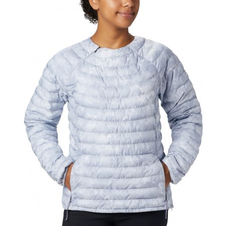 Women's outdoor jacket - Columbia POWDER PASS PULLOVER - 3