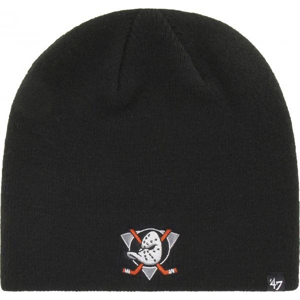 47 NHL ANAHEIM DUCKS BEANIE černá UNI - Zimní čepice
