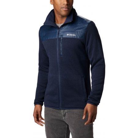 Men's fleece sweater - Columbia CANYON POINT SWEATER FLEECE FULL ZIP - 2