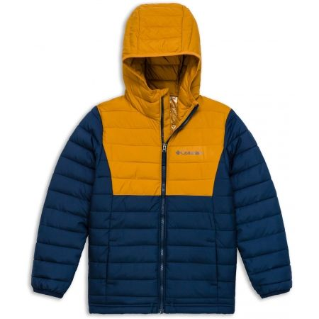 Columbia POWDER LITE BOYS HOODED JACKET - Chlapčenská bunda