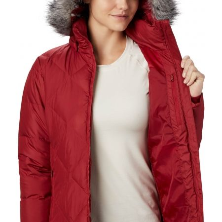 Dámska zimná bunda - Columbia ICY HEIGHTS II MID LENGHT DOWN JACKET - 4