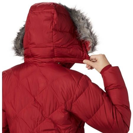 Dámska zimná bunda - Columbia ICY HEIGHTS II MID LENGHT DOWN JACKET - 5