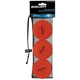 Bauer FLOOR HOCKEY PUCK ORANGE 3 PACK