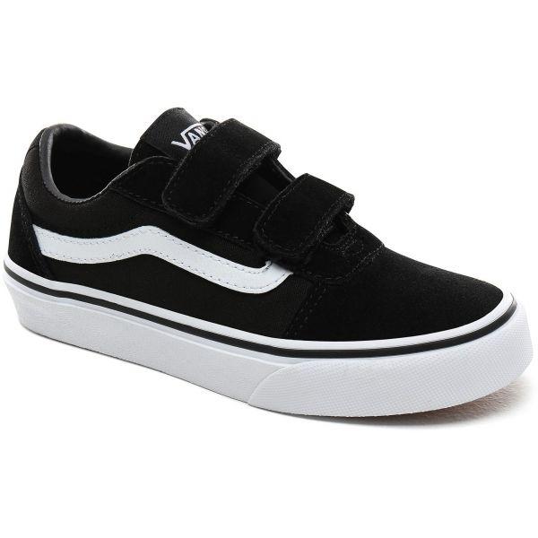 Vans YT WARD V fekete 2.5 - Gyerek alacsony szárú tornacipő