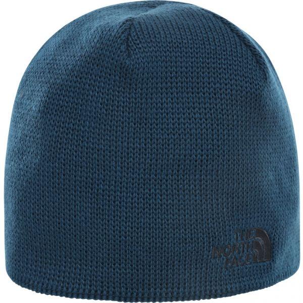 The North Face BONES RECYCED BEANIE niebieski  - Czapka