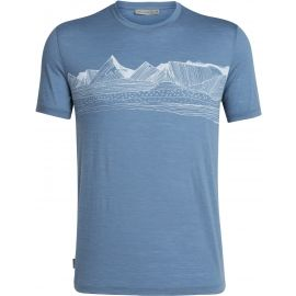 Icebreaker SPECTOR SS CREWE PYRENEES - Pánske tričko