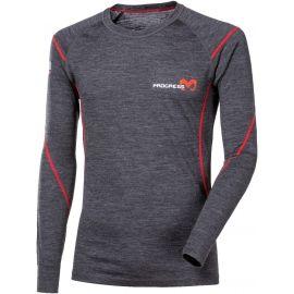 Progress MERINO LS-M - Koszulka termoaktywna męska