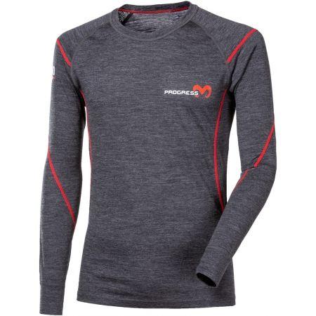 Pánske funkčné tričko - Progress MERINO LS-M - 1