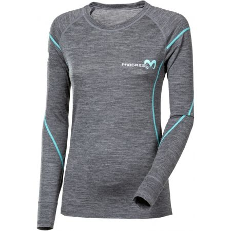 Progress MERINO LS-L - Dámske funkčné tričko