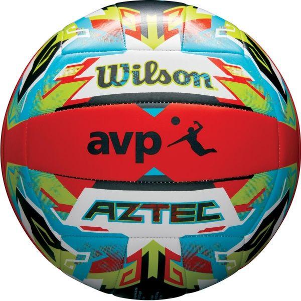 Wilson AZTEC VB ORBLUGR - Lopta na plážový volejbal