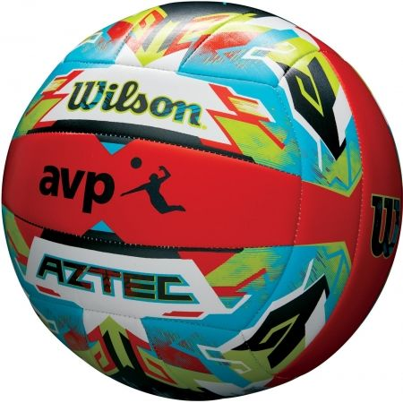 Piłka do siatkówki plażowej - Wilson AZTEC VB ORBLUGR - 2