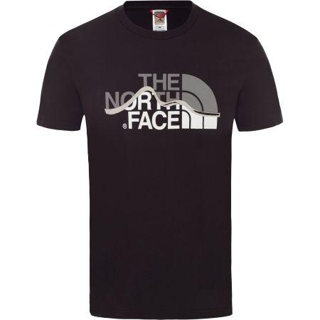 Pánské tričko - The North Face S/S MOUNT LINE TEE - 1