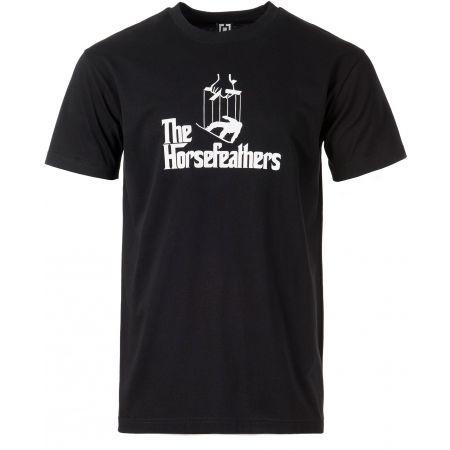 Pánské tričko - Horsefeathers OMERTA T-SHIRT - 1