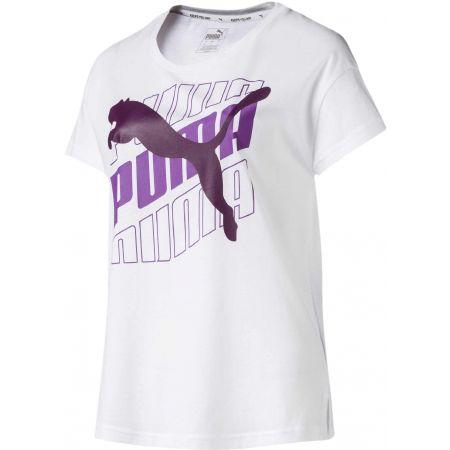 Tricou sport damă - Puma 58007501 MODERN SPORT GRAPHIC TEE - 1