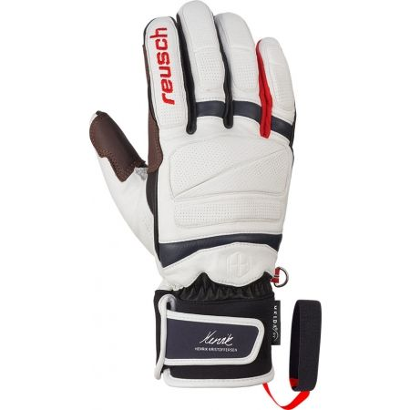 Kožené lyžiarske rukavice - Reusch HENRIK KRISTOFFERSEN - 1