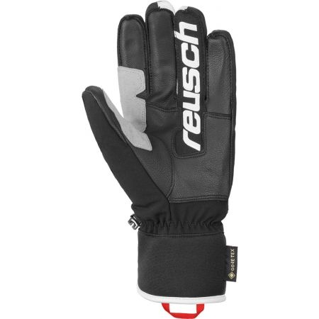 Kožené lyžařské rukavice - Reusch ALEXIS PINTURAULT GTX + GORE GRIP TECH - 2