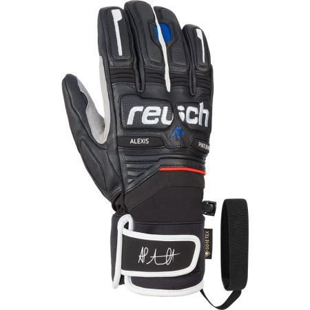 Reusch ALEXIS PINTURAULT GTX + GORE GRIP TECH - Leather ski gloves