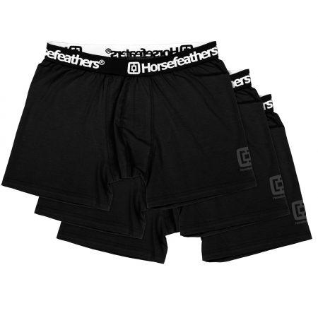 Мъжки боксерки - Horsefeathers DYNASTY 3PACK BOXER SHORTS - 1