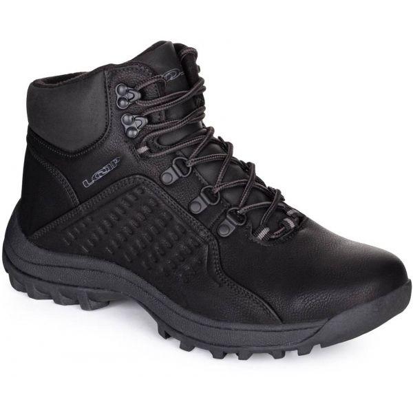 Loap LUKY čierna 43 - Pánska zimná obuv