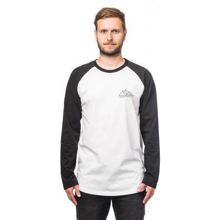 Мъжка блуза - Horsefeathers PEAKS LS T-SHIRT - 1