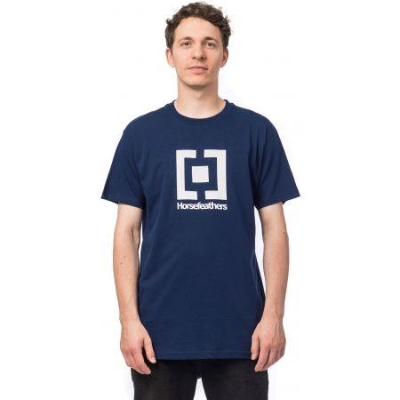 Мъжка тениска - Horsefeathers BASE T-SHIRT - 1